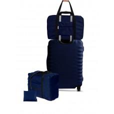 Дорожная сумка для ручной клади Coverbag синяя Standart