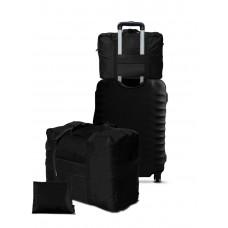Дорожная сумка для ручной клади Coverbag черная  Standart