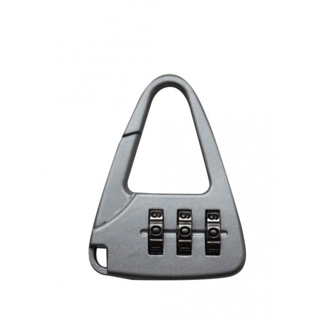 Багажный замок кодовый металлик 12