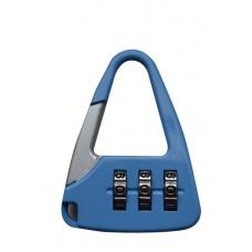 Багажный замок кодовый голубой 14