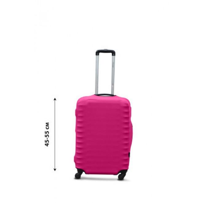 Чехол для чемодана Coverbag дайвинг S фуксия