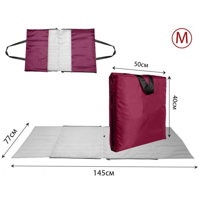 Сумка-коврик Coverbag М бордо