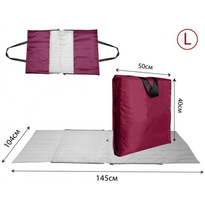 Сумка-коврик Coverbag L бордо