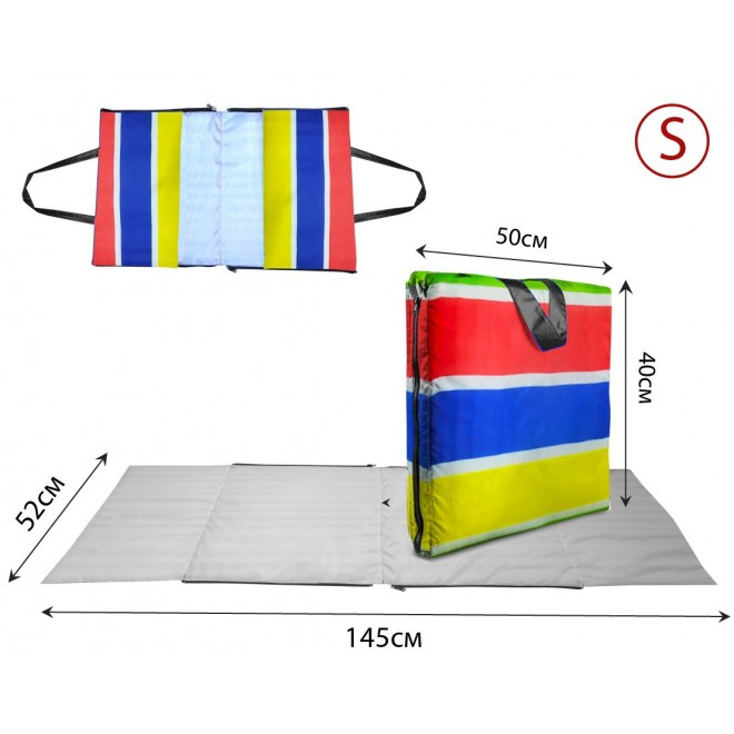 Сумка-коврик Coverbag S разноцветный