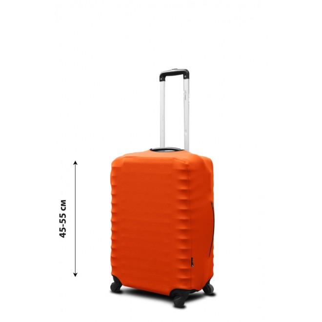 Чехол для чемодана Coverbag неопрен S оранжевый
