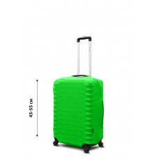 Чехол для чемодана Coverbag неопрен S салатовый