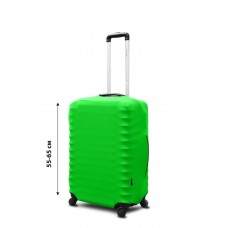 Чехол для чемодана Coverbag неопрен  M салатовый