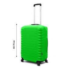 Чехол для чемодана Coverbag неопрен  L салатовый
