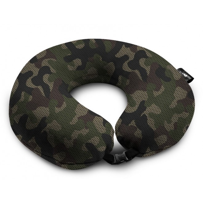 Подушка Coverbag Подкова хаки 0417