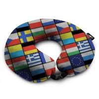 Подушка Coverbag Подкова  флаги  0413