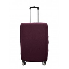 Чехол для чемодана Coverbag неопрен Strong L бургунди