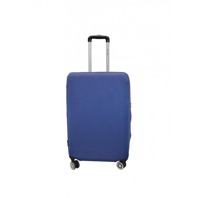 Чехол для чемодана Coverbag неопрен Strong S синий