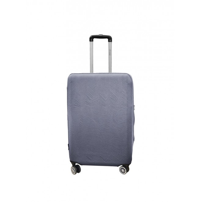 Чехол для чемодана Coverbag неопрен Strong S серый