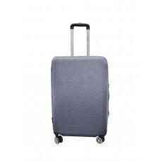 Чехол для чемодана Coverbag неопрен Strong M серый