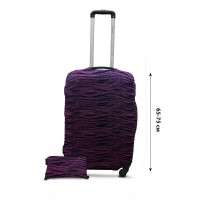 Чехол для чемодана  Coverbag дайвинг L бисер
