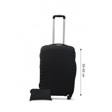 Чехол для чемодана Coverbag неопрен Strong M точки черные