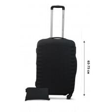 Чехол для чемодана Coverbag неопрен Strong L точки черные