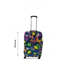 Чехол для чемодана  Coverbag  дайвинг  S полевые цветы разноцветный